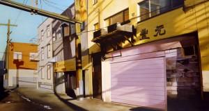 реалистични картини на градски площи