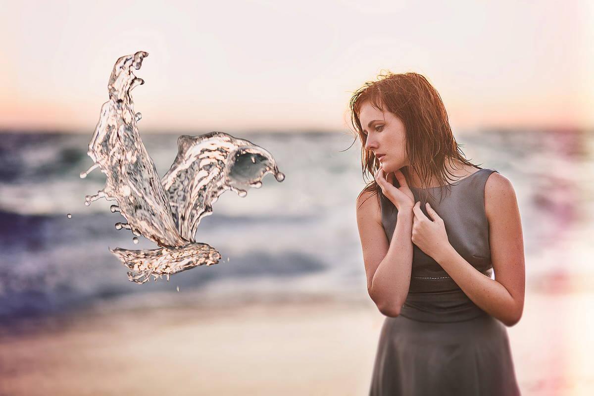 концептуална фотография на Джена Мартин