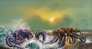 Художникът Майк Уилямс придава нов живот на картини