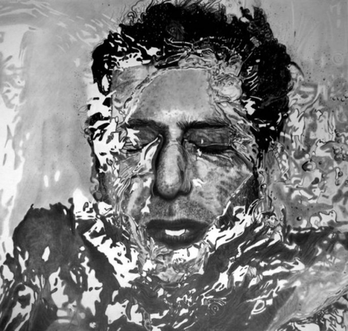 реалистични картини на художника Пол Шангаи, нарисувани само с моливи