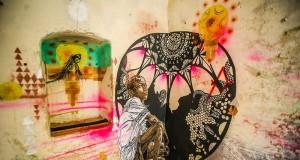 улични артисти трансформират тунизийски остров