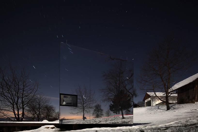 огледална къща от DMAA