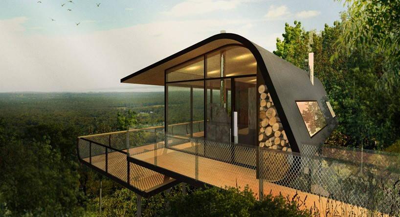 концептуална еко-колиба