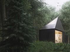 Барака в гората от Томек Мичалски