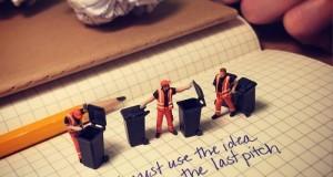 За да се отърве от стреса на работа, Дерик Лин създава въображаеми сцени