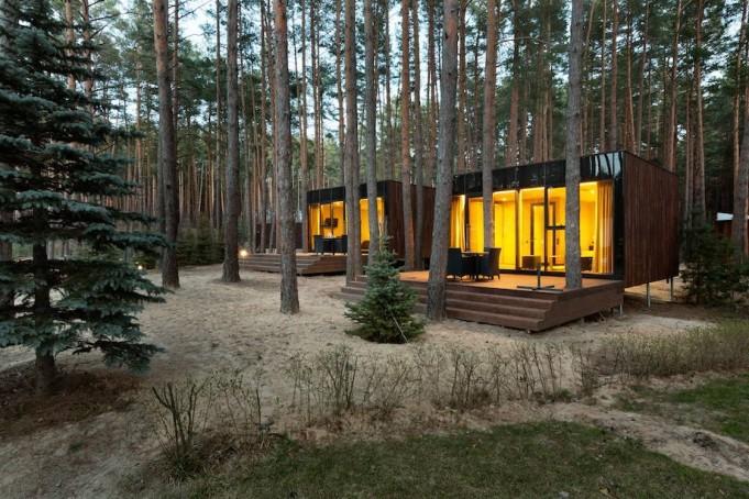 Къщи за гости от YOD design lab