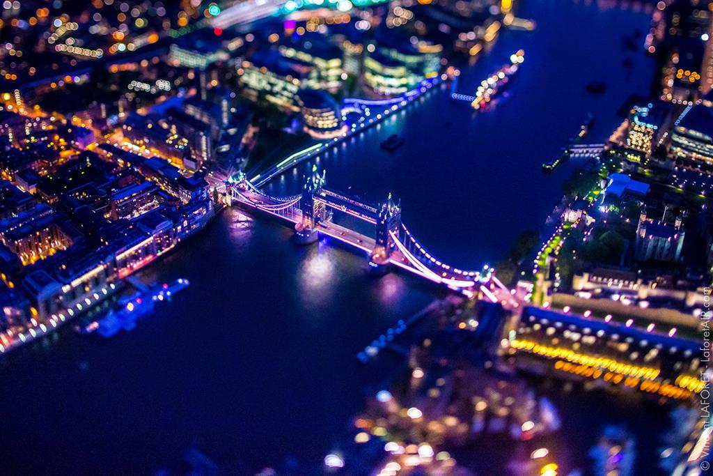снимки на нощен Лондон