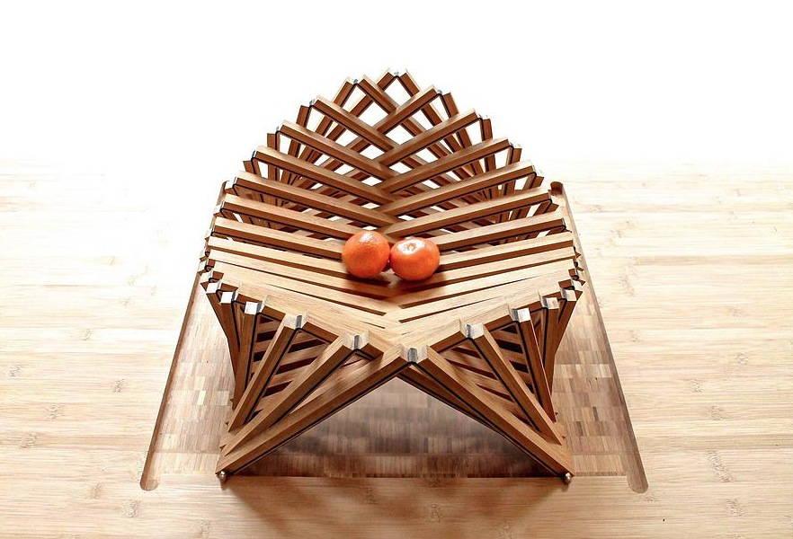 Rising Shell са впечатляваща серия от столове