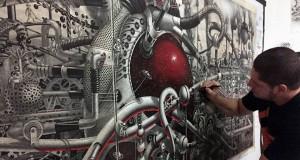 стиймпънк картина от Самуел Гомез