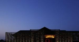 Ресторант в Япония е облицован с 3 000 броя дървени въглища