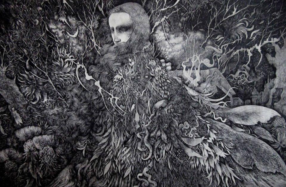ецвани творби на Икума Нао