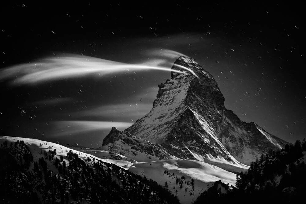 Портрет на планина