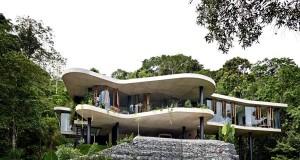 къща в австралийската дъждовна гора