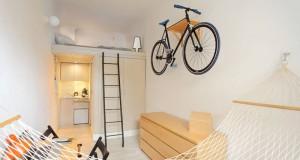 малък апартамент в Полша проектиран от Шимон Ханчар