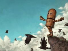 самотните роботи на Мат Диксон